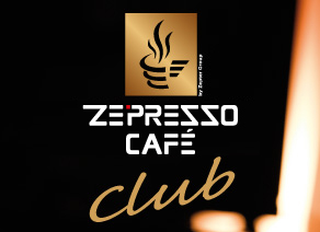 Become a privileged member of the Ze-Presso Café Club